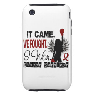 Survivor 22 Multiple Myeloma iPhone 3 Tough Cover