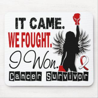 Survivor 22 Oral Cancer Mousepad
