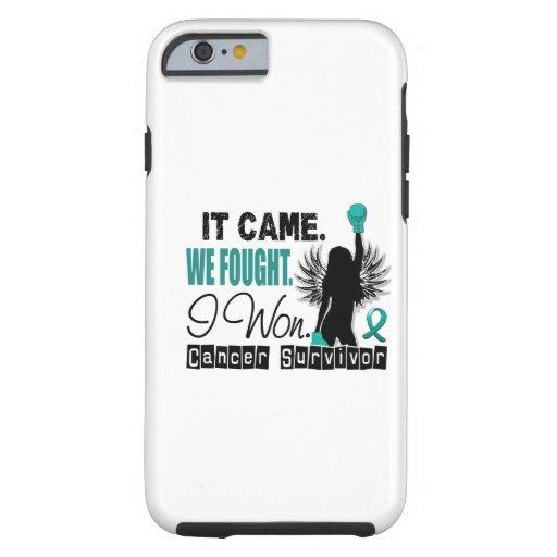 Survivor 22 Ovarian Cancer iPhone 6 Case