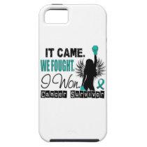 Survivor 22 Ovarian Cancer iPhone SE/5/5s Case