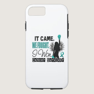 Survivor 22 Ovarian Cancer iPhone 7 Case