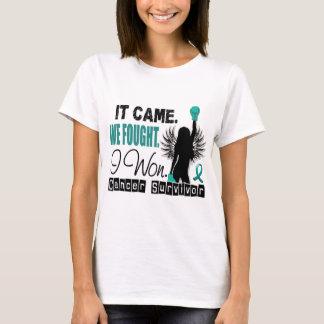 Survivor 22 Ovarian Cancer T-Shirt