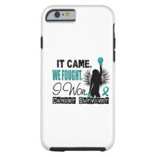Survivor 22 Ovarian Cancer Tough iPhone 6 Case