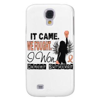 Survivor 22 Uterine Cancer Galaxy S4 Covers