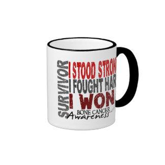 Survivor 4 Bone Cancer Ringer Coffee Mug