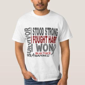 Survivor 4 Brain Tumor T-Shirt