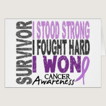 Survivor 4 Cancer Card