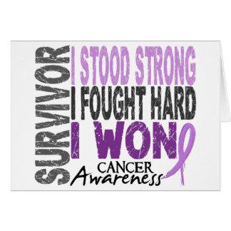 Survivor 4 Cancer Card
