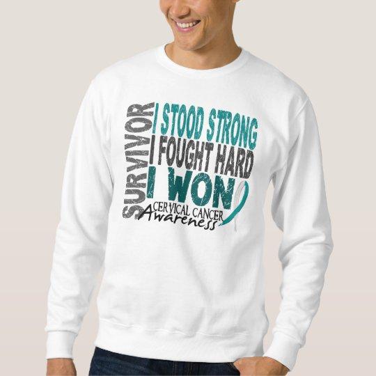 Survivor 4 Cervical Cancer Sweatshirt