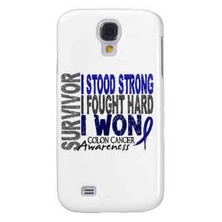 Survivor 4 Colon Cancer Galaxy S4 Case