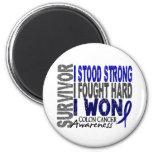 Survivor 4 Colon Cancer Magnet