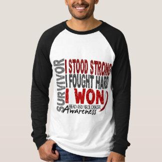 Survivor 4 Head Neck Cancer T-Shirt