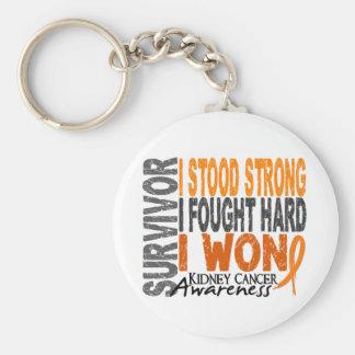 Survivor 4 Kidney Cancer Key Chains