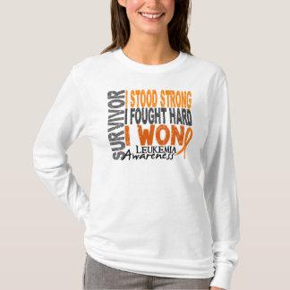 Survivor 4 Leukemia T-Shirt