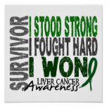Survivor 4 Liver Cancer Posters