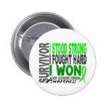 Survivor 4 Lymphoma Non-Hodgkin's 2 Inch Round Button