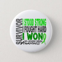 Survivor 4 Lymphoma Non-Hodgkin's Pinback Button