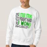 Survivor 4 Lymphoma Non-Hodgkin's Pull Over Sweatshirt
