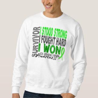 Survivor 4 Lymphoma Non-Hodgkin's Sweatshirt