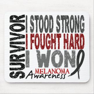 Survivor 4 Melanoma Mouse Pads