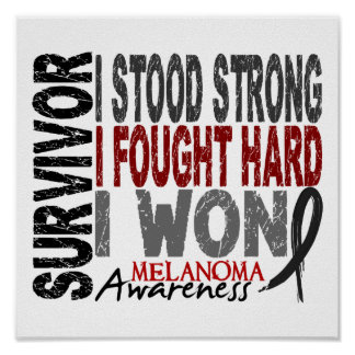 Survivor 4 Melanoma Poster