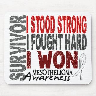 Survivor 4 Mesothelioma Mouse Pad