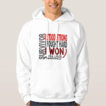 Survivor 4 Oral Cancer Hoodie