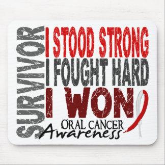 Survivor 4 Oral Cancer Mouse Pad