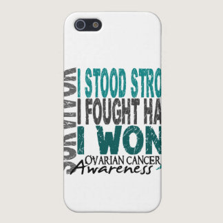 Survivor 4 Ovarian Cancer Case For iPhone SE/5/5s