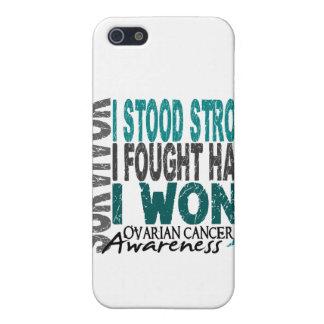 Survivor 4 Ovarian Cancer iPhone 5 Case