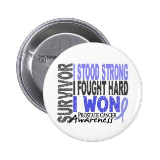 Survivor 4 Prostate Cancer 2 Inch Round Button