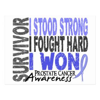 Survivor 4 Prostate Cancer Postcard