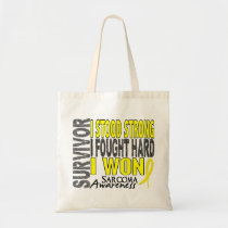 Survivor 4 Sarcoma Tote Bag