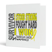 Survivor 4 Testicular Cancer Binder