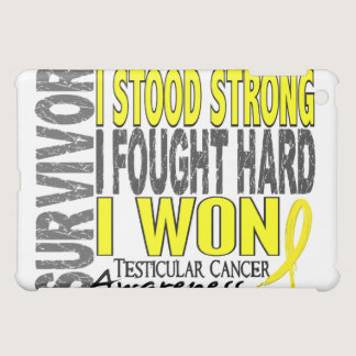 Survivor 4 Testicular Cancer iPad Mini Cases