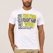 Survivor 4 Testicular Cancer T-Shirt