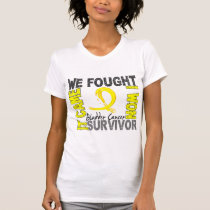 Survivor 5 Bladder Cancer T-Shirt