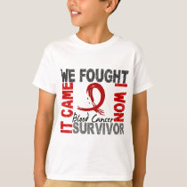 Survivor 5 Blood Cancer T-Shirt