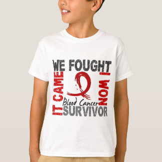 Survivor 5 Blood Cancer T-Shirt