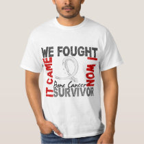 Survivor 5 Bone Cancer T-Shirt