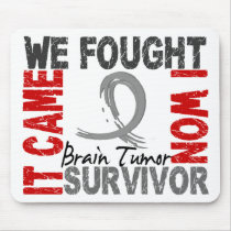 Survivor 5 Brain Tumor Mouse Pad