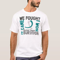 Survivor 5 Cervical Cancer T-Shirt