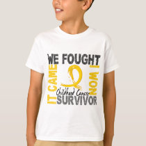 Survivor 5 Childhood Cancer T-Shirt