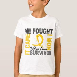 Survivor 5 Childhood Cancer T-Shirt