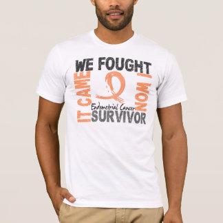 Survivor 5 Endometrial Cancer T-Shirt