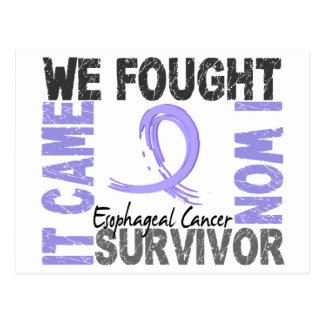 Survivor 5 Esophageal Cancer Postcard