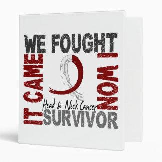 Survivor 5 Head Neck Cancer Binder