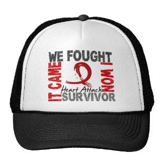 Survivor 5 Heart Attack Mesh Hats