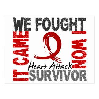 Survivor 5 Heart Attack Post Cards