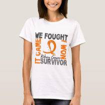Survivor 5 Kidney Cancer T-Shirt